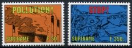 Surinam, Suriname, 1994, Nature Conservation, Environment Protection, MNH, Michel 1475-1476 - Surinam