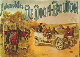DE  DION  BOUTON / AUTOMOBILES  / LOT  1229 - Publicité