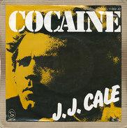 "7"" Single, J.J. Cale, Cocaine - Disco, Pop"