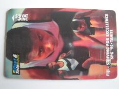 1 GPT Phonecard From Fiji Islands - Pacific Games Sports - 14FIB (0)