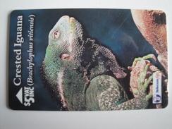 1 GPT Phonecard From Fiji Islands - Iguana - 19FJC (0)