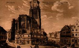 Alt-Mainz - Ruine Der Lieben Frau - Kirche Nach Der Belagerung Im Jahre 1793 - Mainz