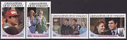 GRENADINES OF ST VINCENT 1986 PRINCE ANDREW WITH SARAH FERGUSON ROYAL WEDDING  MNH** - Royalties, Royals