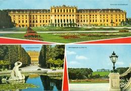Autriche - 1984 - Wien Château De Schönbrunn - Multivues - Zink Wien - 110 - Ecrite, Timbrée, Circulée - 1570 - Château De Schönbrunn