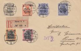 Polen: 1919: Einschreiben Posen