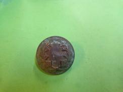 Bouton A Identifier ??? Couronne De Laurier Sous Reserve ( 23 Mm ). - Buttons