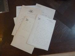 Lot 7 LAS Autographes E.Raymond Blavel Journaliste Né à Cournonterral Opéra Recommandations, Demandes.... - Handtekening