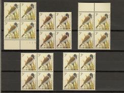 Belgie - Belgique : Ocb Nr:  2425 ** MNH  (zie  Scan )  De 5 Soorten Uit De COB - 1985-.. Vögel (Buzin)