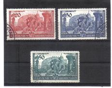 BAU421 LIECHTENSTEIN 1939  MICHL  180/82  Used / Gestempelt  SIEHE ABBILDUNG