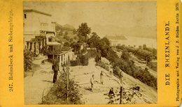 Photo  - CDV - Vue De Rolandseck: Rolendseck Und Siebenbirbe.1881 - Foto