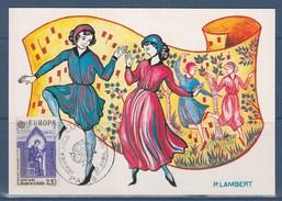 = Europa 1985 Carte Postale 1er Jour Strasbourg 27.4.85 N°2366 Année Européenne De La Musique - 1980-1989
