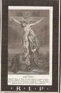 DP. JOANNES D'HASE  -  SCHOONAARDE 1799 -1880 - Religión & Esoterismo