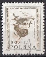 2537 Polonia 1982 Testa Di Uomo - Man's Head - Viaggiato Used