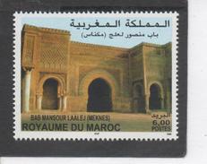 MAROC - Patrimoine -  Porte D'enceinte  De Bab Mansour Laalej, à Meknès - Monument - Tourisme - - Morocco (1956-...)
