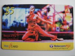 1 Remote Phonecard From Fiji Islands - Dances Of Fiji