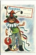 Scorpion Lutteur Attiré Par... Enfant Déguisé En Scorpion. Horosco-carte Du Professeur MARCUS - Astrologie