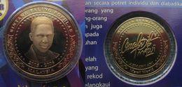Malaysia 2007 Nordic Gold Coin Medallion BU 2007 Mawi World Artist - Malaysia