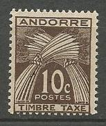 ANDORRE TAXE N° 32 NEUF** LUXE  SANS CHARNIERE / MNH