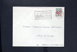 """Flamme - 29s Concarneau  """" Concarneau,  Grand Port De Pêche, Station Balnéaire Marée Conserves """""""