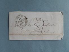 MARQUE POSTALE DE CAHORS A ST ETIENNE DU 11 FEVRIER 1836