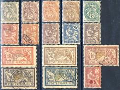 Alexandrie 1902-03 Serie € 19-33 Mista MH E Usato + N. 34 MLH Cat. € 93