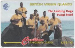 Britsh Virgin Islands, BVI-103C, Fungi Band, 2 Scans.   103CBVC - Virgin Islands