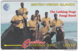 Britsh Virgin Islands, BVI-103C, Fungi Band, 2 Scans.   103CBVC