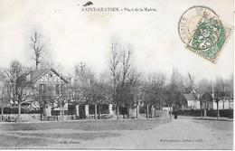 SAINT - GRATIEN  ( 95 )  - Place De La Mairie - Saint Gratien