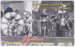 Antigua, ANT-181D, Carnival Queen Contestant, Lingerie, Pan Am, 2 Scans.  181CATD