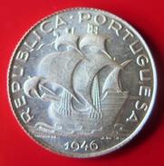 VF MOEDA DE PORTUGAL 2$50  ESCUDOS DE 1946   (NOVA) - Portugal