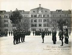 22° & 62° BATAILLONS DE CHASSEURS ALPINS - NICE - CEREMONIE Du 28 JANVIER 1939 - PHOTO (18 X 24 Cm) Par Charles. LAUGIER - Guerre, Militaire
