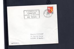"""Flamme 88  Remiremont  """"    La Sobriete De Chacun Assure La Securite De Tous"""""""