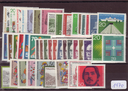 Bundesrepublik, Kpl. Jahrgang 1970**