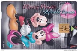 South Africa, SAF-155, Disney, Mickey & Minnie, 2 Scans.