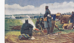 SRBIJA - SERBIA, Logor Srpske Vojske Pred Kumanovom 1913 - Servië