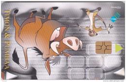 South Africa, SAF-154, Disney, Timon & Pumbaa, 2 Scans.