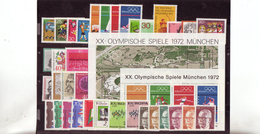 Bundesrepublik, Kpl. Jahrgang 1972**