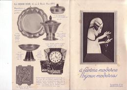 Fasicule Art Déco 1928  Bijouterie La Gerbes D'Or Paris - Publicités