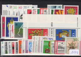 Bundesrepublik, Kpl. Jahrgang 1973**