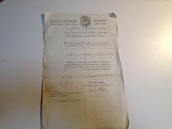 LE PREFET DE LA HTE VIENNE, NOMINATION DU MAIRE DE ST VICTURNIEN AN 8 - Historical Documents