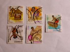 ZAMBIE 1981-83  LOT# 2 - Zambie (1965-...)