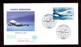 2006 - Enveloppe Premier Jour (FDC) - Paris - Airbus A 380 - FDC