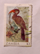 ZAMBIE 1987-88  LOT# 4  BIRD - Zambie (1965-...)