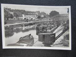 AK SAARBRÜCKEN Hafen Ca.1940 // D*24220 - Saarbrücken