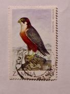 ZAMBIE 1987-88  LOT# 5  BIRD - Zambie (1965-...)
