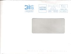 EMA Bleue De Bois D'Arcy (78) 3IS Institut International Image & Son (oblitération Du 28/03/2017)