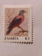 ZAMBIE 1990-91  LOT# 7  BIRD - Zambie (1965-...)
