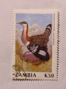 ZAMBIE 1990-91  LOT# 9  BIRD - Zambie (1965-...)