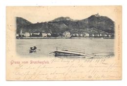 5330 KÖNIGSWINTER, Blick Von Godesberg, Frühe Karte, 1897 Postalisch Befördert - Koenigswinter