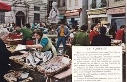 NICE. - Le Marché Aux Poissons De La Place St-François. Recette De LA BOURRIDE. CPM  RARE - Markets, Festivals
